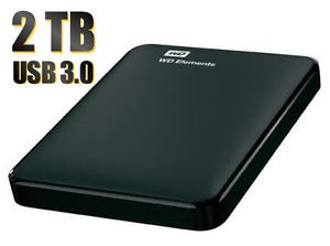 HD ESTERNO 2TB M3 2.5 USB3.0 BLACK