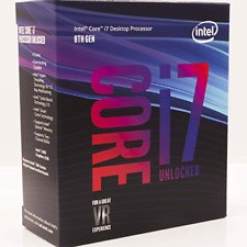 CPU INTEL  I7-8700K QUAD CORE 4.20GHZ 8MB 91W SKT1151 BOX