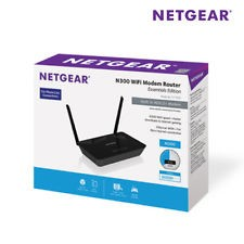 RETE NETGEAR ROUTER ADSL2/2+ 10/100 2N 300MBPS WIRELESS BLACK