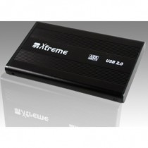 BOX HDD 2.5 SATA XTREME USB 2.0 + TRAVEL BAG MULTICOLOR