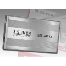 BOX X HDD 3.5 XTREME USB2.0 SILVER EXTERNAL