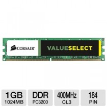 DDR 1GB 400MHZ PC3200 CL3 VALUE SELECT